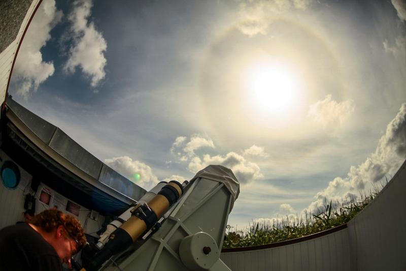Halo wokół Słońca